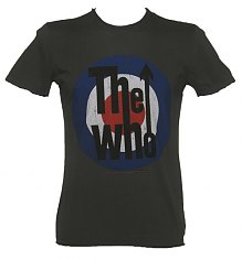 Men's Charcoal The Who Target T-Shirt from Amplified Vintage [View details]