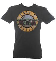 Men's Classic Guns N Roses Drum T-Shirt from Amplified Vintage