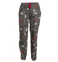 Men's Dark Grey Darth Vader Lounge Pants