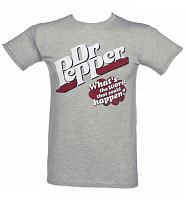 Men's Dr Pepper What's The Worst That Can Happen T-Shirt