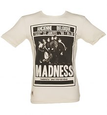 Men's Ecru Belgium Tour Madness T-Shirt from Worn By [View details]