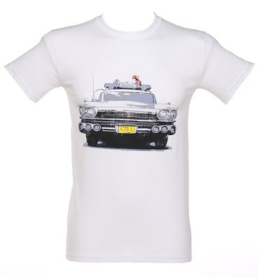 Men's Ecto 1 Ghostbusters T-Shirt