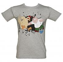 Men's Family Guy Chicken Fight T-Shirt