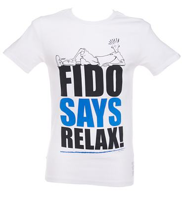 Men's Fido Dido Fido Says Relax T-Shirt from Too Late To Dye Young