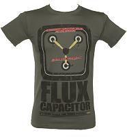 Men's Flux Capacitor Back To The Future Glow In The Dark T-Shirt