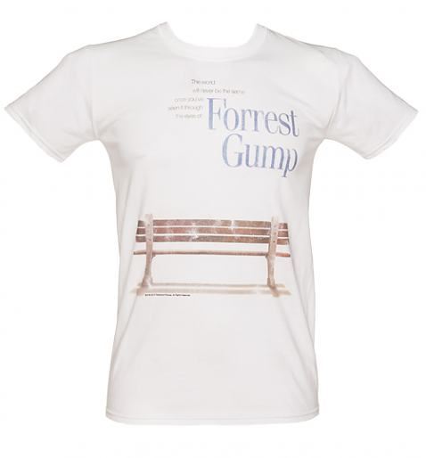 Men's Forrest Gump Bench T-Shirt