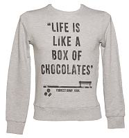 Men's Forrest Gump Box Of Chocolates Quote Pullover