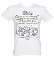 Men's Fraggle Rock Theme Tune T-Shirt
