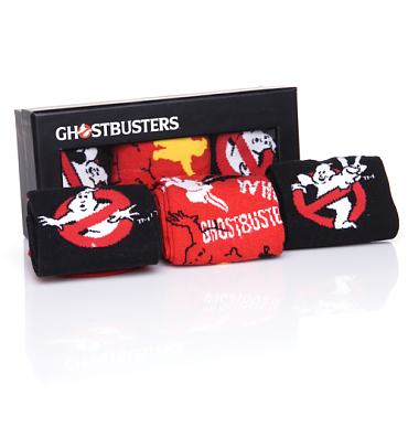 Men's Ghostbusters 3pk Assorted Socks Gift Set