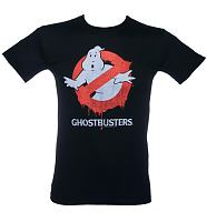 Men's Ghostbusters Dripping Logo T-Shirt