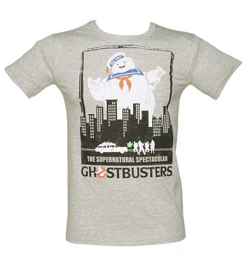 Men's Ghostbusters Supernatural Spectacular T-Shirt from TruffleShuffle