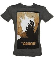 Men's Goonies Map Poster T-Shirt