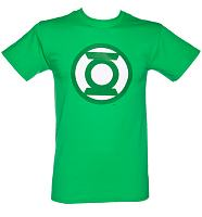 Men's Green Lantern Classic Logo T-Shirt from Urban Species