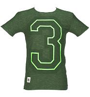 Men's Green Marl 3 Mick Jagger T-Shirt from Worn By