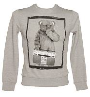 Men's Grey Boombox Bungle Sweater