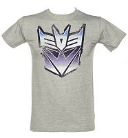 Men's Grey Decepticon Transformers T-Shirt