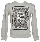 Men's Grey Goonies Quotes Sweater