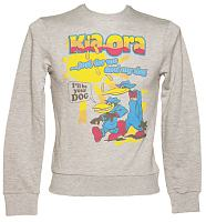 Men's Grey Kia-Ora 'I'll Be Your Dog' Jumper