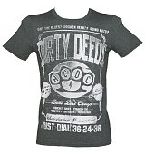 Men's Grey Marl AC/DC Dirty Deeds T-Shirt