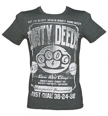 Men's Grey Marl AC/DC Dirty Deeds T-Shirt [View details]