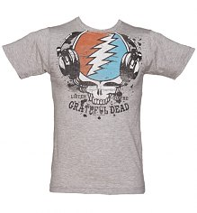Men's Grey Marl Grateful Dead Listen T-Shirt [View details]