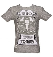 Men's Grey Marl Tommy Post Who T-Shirt from Worn By [View details]