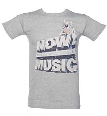 Men's Grey Now That's What I Call Music T-Shirt [View details]