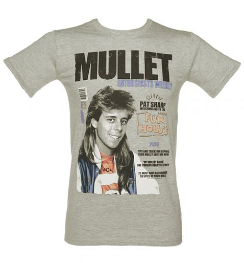 Pat Sharp Mullets T-Shirt from TruffleShuffle