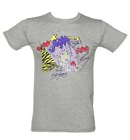 Men's Grey Retro Jem And The Holograms T-Shirt