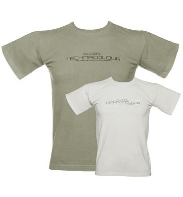 Men's Grey To White Heat Sensitive T-Shirt from Global Technacolour