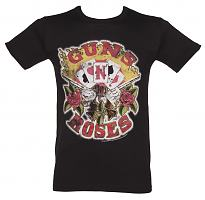 Men's Guns N Roses Cards T-Shirt