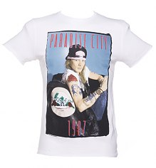 Men's Guns N Roses Paradise City Axl Rose T-Shirt from Amplified Ikons [View details]