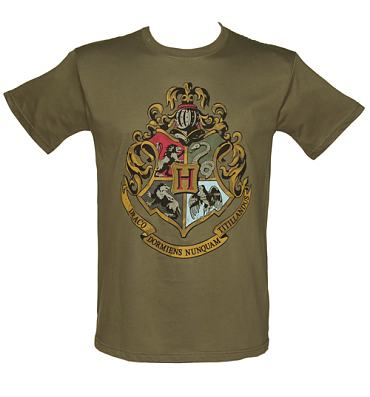 Men's Harry Potter Hogwarts Crest T-Shirt