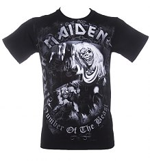 Men's Iron Maiden Number Of The Beast T-Shirt [View details]