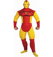 Men's Iron Man Fancy Dress Costume