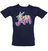Men's Jem and The Holograms Logo T-Shirt