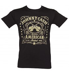 Men's Johnny Cash American Rebel T-Shirt [View details]