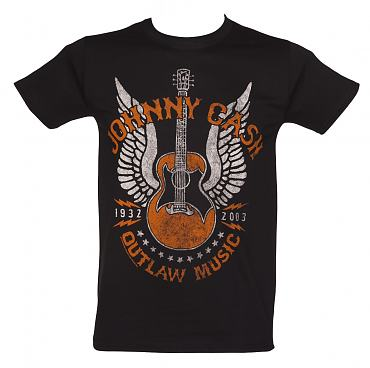 Men's Johnny Cash Outlaw T-Shirt