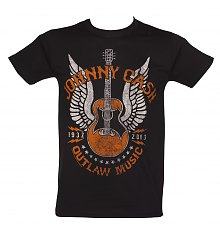 Men's Johnny Cash Outlaw T-Shirt [View details]