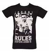 Men's Johnny Cash Rules T-Shirt