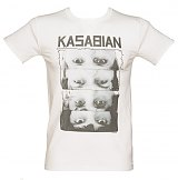 Men's Kasabian Row Of Eyes T-Shirt