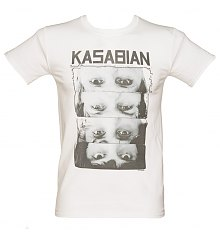 Men's Kasabian Row Of Eyes T-Shirt [View details]
