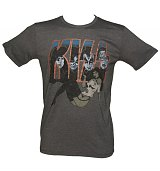 Men's Kiss Pin-Up Vintage T-Shirt from Junk Food