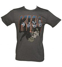 Men's Kiss Pin-Up Vintage T-Shirt from Junk Food [View details]