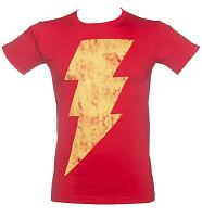 Men's Lightning Flash Shazam T-Shirt