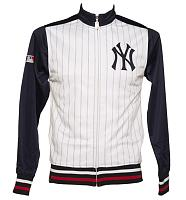 Men's MLB New York Yankees Forfeit Track Jacket from Majestic Athletic