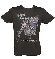 Men's Marvel Ghost Rider Hell On Wheels T-Shirt from Junk Food