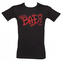 Men's Michael Jackson Who's Bad T-Shirt