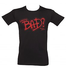 Men's Michael Jackson Who's Bad T-Shirt [View details]