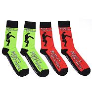 Men's Monty Python Minstry Of Funny Walks 2pk Socks